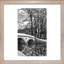Trinity Bridge Cambridge - Ready Framed